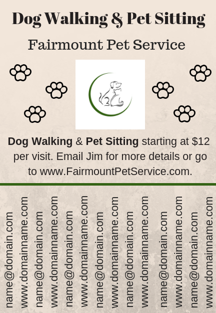 Dog Walker Flyer Template and How to Design One Yourself