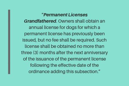 Philadelphia dog license: lifetime dog license in Philadelphia