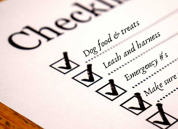 Dog Sitting Tips, Checklist & Instructions (Pet Sitting 101)