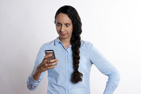 Try emailing or calling when a text message is insufficient