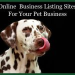 Online Business Listing & Review Sites (Pet Business)