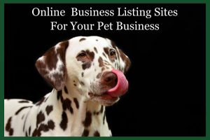 Online Review & Business Listing Sites (Pet Business)