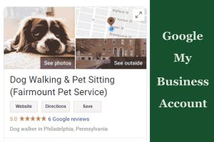Free Google My Business Account For Your Pet Service